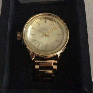 Accessories - Nixon Gold Watch